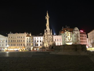 Olomouc-centrul by night