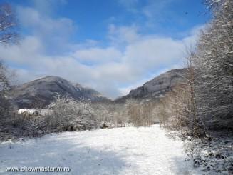 Iarna ca-n povesti (In Cheile Madei)