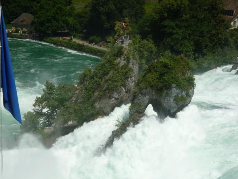 Cascadele Rinului   Impresii Schaffhausen, Elvetia