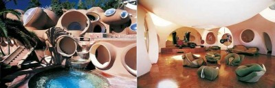 Palatul cu Bule, Pierre Cardin